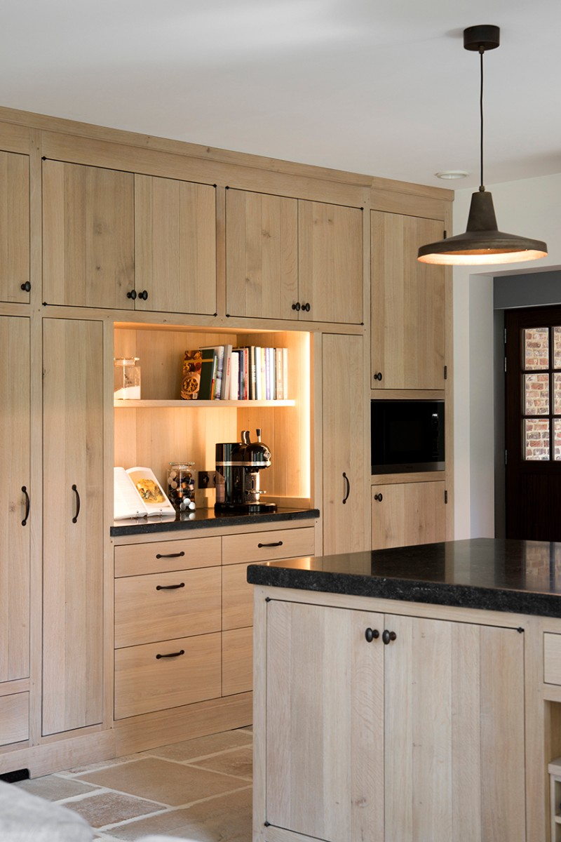 Blank Eiken Leefkeuken Keukens Arthur Bours