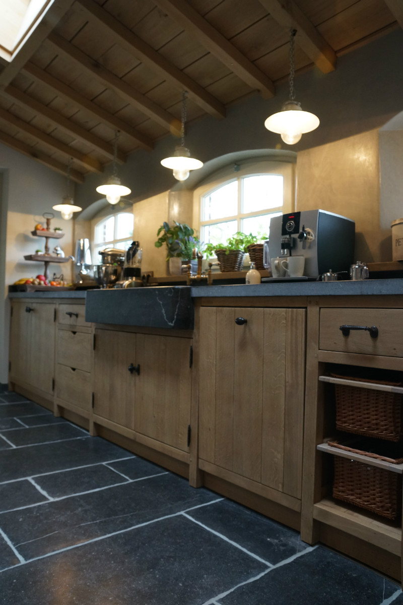 Welp Landelijke keuken in massief eik - Keukens - Arthur Bours LK-07