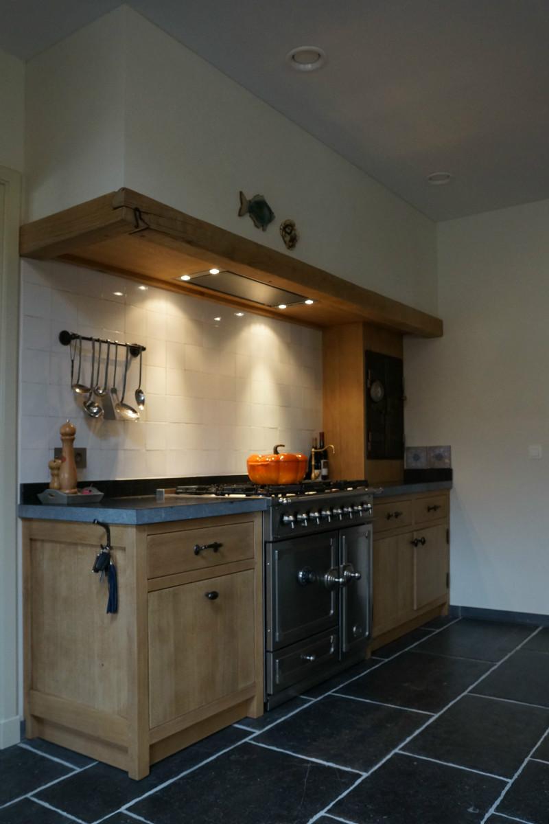 Beste Landelijke keuken in massief eik - Keukens - Arthur Bours NB-67