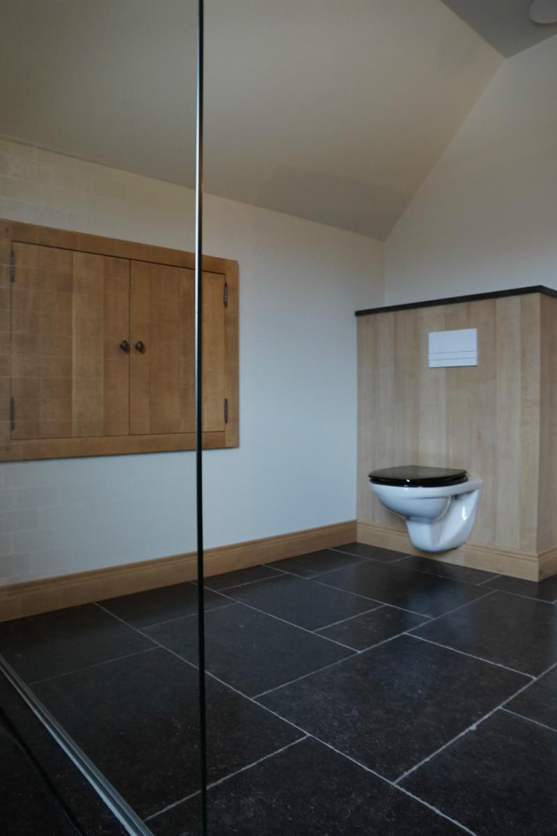 Badkamer op maat voorbeeld 1 badkamers arthur bours - Briketten badkamer ...
