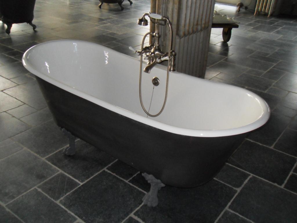 Losse badkuip op pootjes sts projectsgietijzeren baden op pootjes